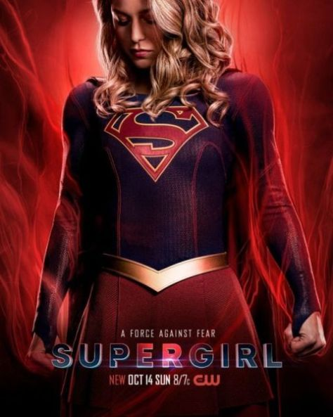 television posters, the cw network, warner brothers television, supergirl