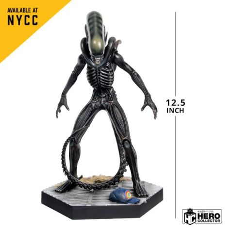 eaglemoss collections, hero collector, alien and predator figurine collection