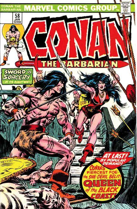 comic book covers, marvel comics, true believers, conan the barbarian, conan the barbarian comics