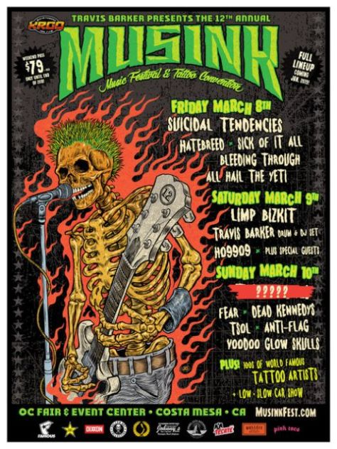 12th annual musink