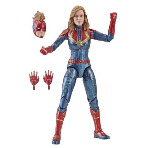 hasbro, hasbro toys, marvel legends series, action figures, captain marvel, captain marvel toys