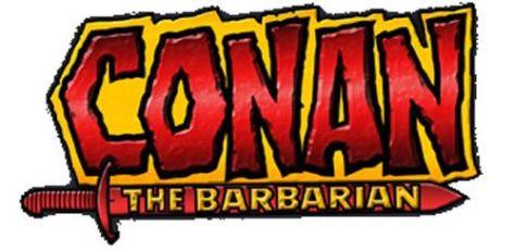 conan the barbarian comics logo