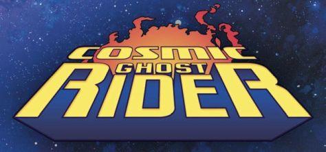 cosmic ghost rider comics logo, marvel comics