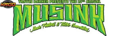 12th annual musink logo