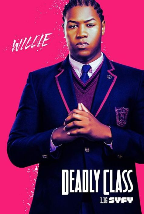 television posters, promotional posters, sony pictures television, deadly class
