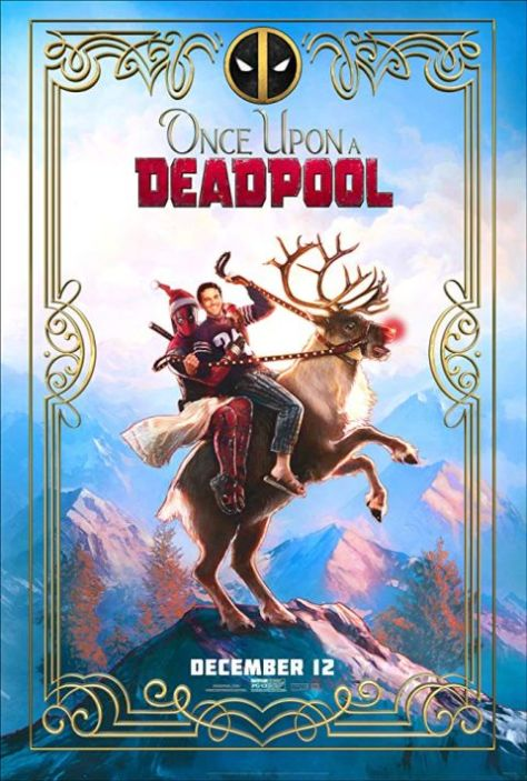 movie posters, 20th century fox, once upon a deadpool