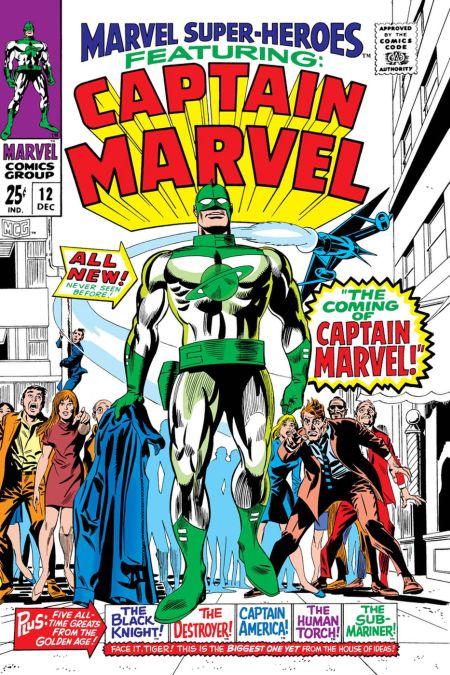 comic book covers, marvel comics, true believers, captain marvel