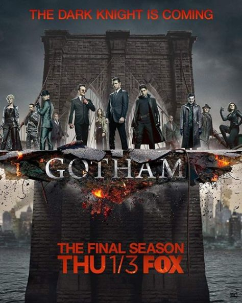 television posters, promotional posters, warner brothers television, gotham