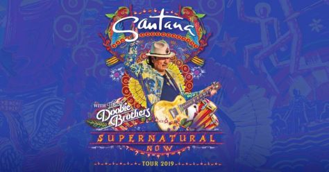 tour posters, santana, santana tour posters