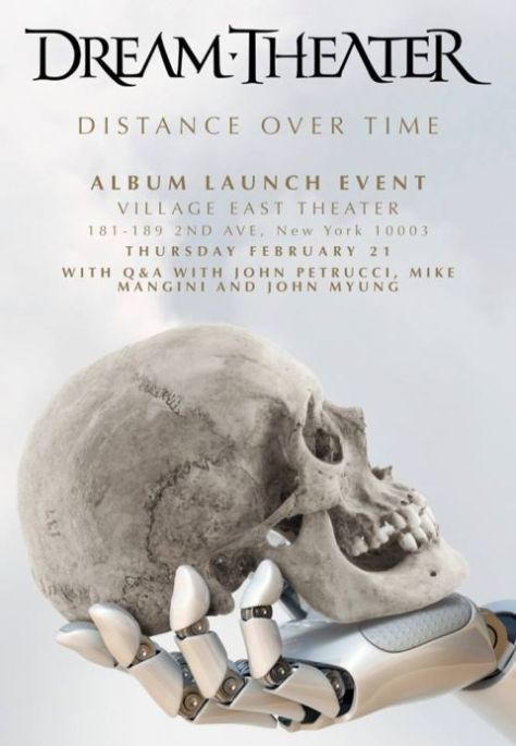 special event posters, dream theater