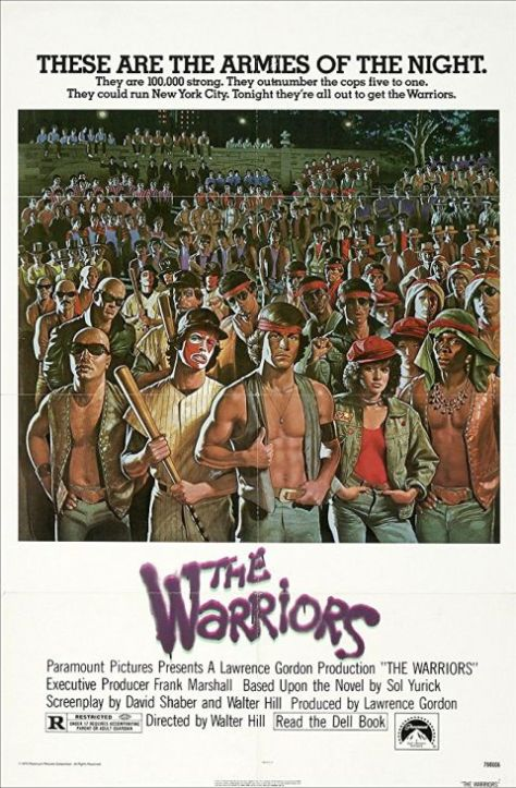 movie posters, paramount pictures, the warriors