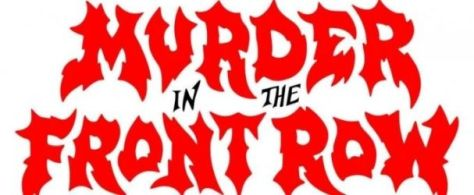 murder in the front row logo