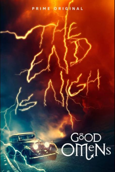 television posters, promotional posters, good omens, good omens posters, amazon prime video