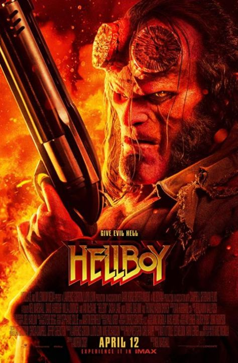 movie posters, promotional posters, lionsgate films, dark horse entertainment, hellboy