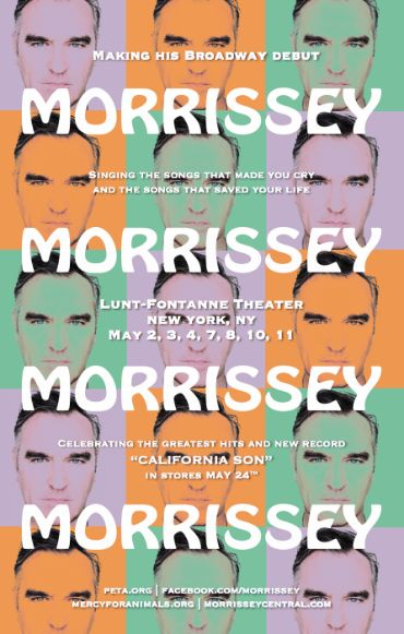 morrissey, morrissey on broadway, lunt-fontanne theater