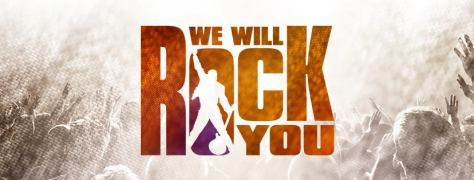 we will rock you banner