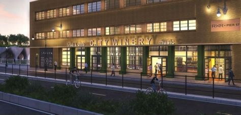 city winery at pier 57