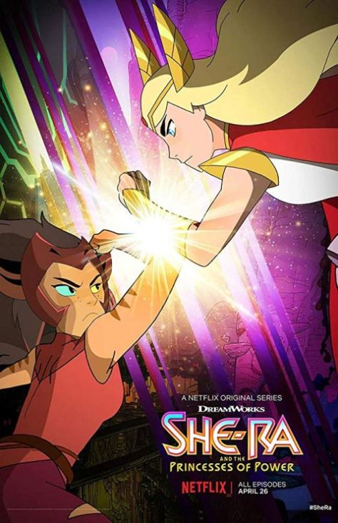television posters, promotional posters, dreamworks, netflix original, she-ra, she-ra and the princesses of power