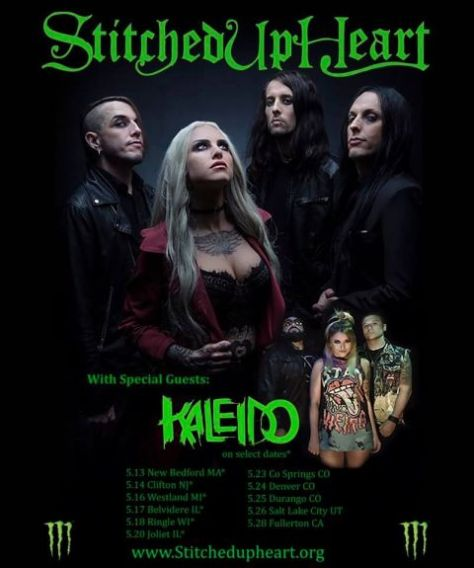 tour posters, stitched up heart, stitched up heart tour posters