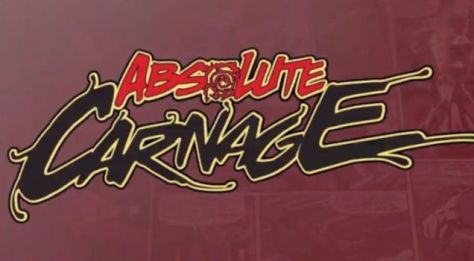 marvel comics, marvel entertainment, absolute carnage logo