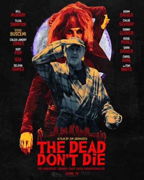 movie posters, promotional posters, focus features, the dead dont die