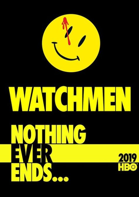 television posters, promotional posters, watchmen