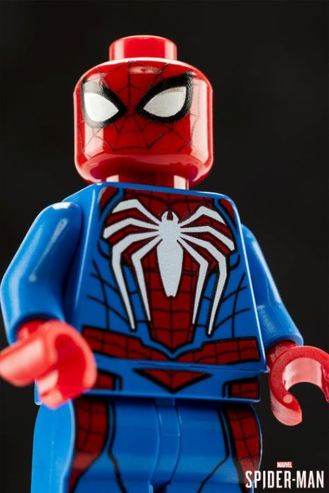lego, ps4 spider-man, action figures