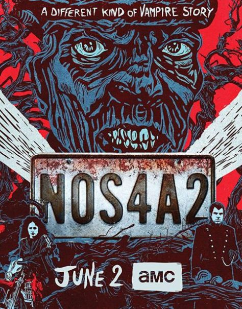 television posters, amc studios, nos4a2 posters
