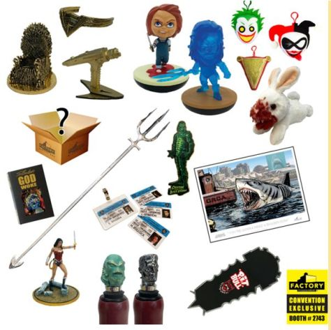 factory entertainment, sdcc 2019 exclusives