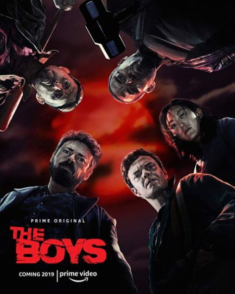 television posters, promotional posters, sony television releasing, amazon prime video, the boys