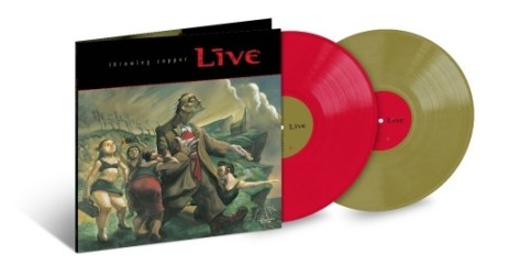 live, throwing copper, album covers, live album covers