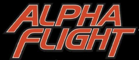 alpha flight comics logo
