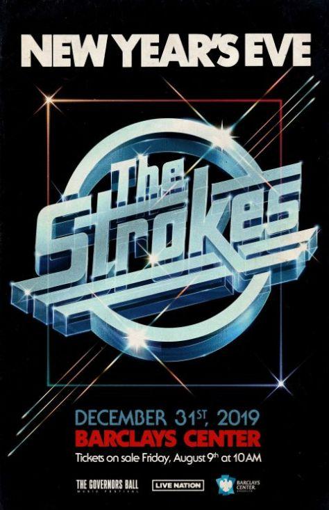 tour posters, the strokes, the strokes tour posters