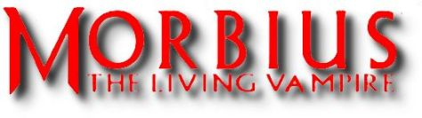 marvel comics, marvel entertainment, morbius the living vampire comics logo