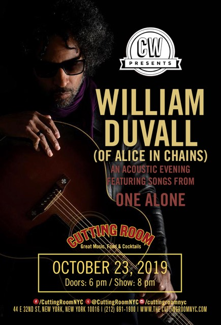 show posters, cutting room nyc, william duvall show posters