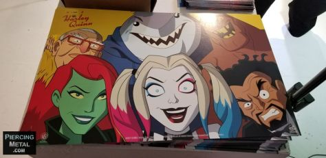 new york comic con 2019, dc universe, harley quinn, harley quinn pop-up gallery, photos from new york comic con 2019, reedpop special events, dc comics, harley quinn gallery photos