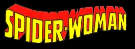 spider-woman comics logo