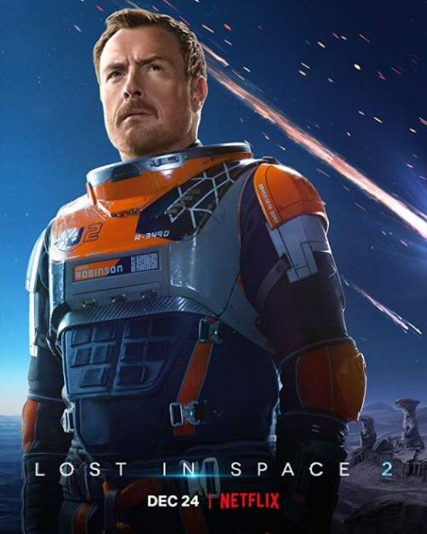 television posters, promotional posters, lost in space, lost in space posters