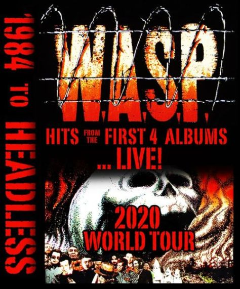 tour posters, wasp, wasp tour posters