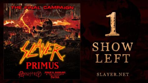 show posters, slayer, nuclear blast records, slayer show posters