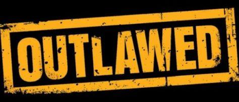 outlawed logo comics, marvel comics, marvel entertainment