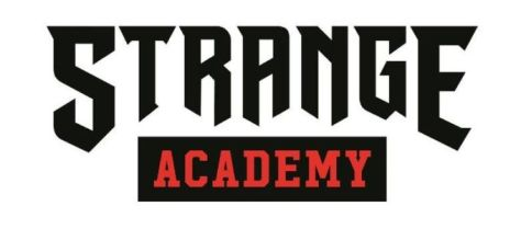 strange academy comics logo
