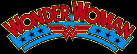 wonder woman comics logo, dc comics, dc entertainment