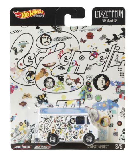 mattel, hot wheels, led zeppelin collectibles, led zeppelin