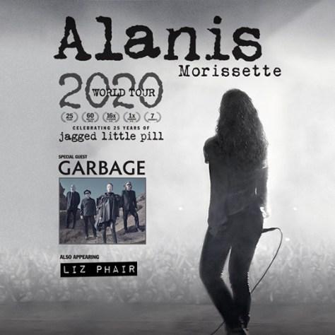 tour posters, alanis morissette, alanis morissette tour posters