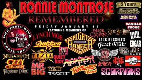 ronnie montrose remembered 2020