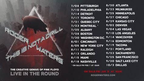 tour posters, roger waters, roger waters tour posters
