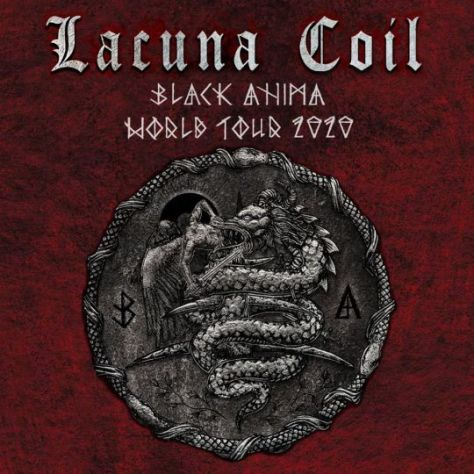 tour posters, promotional posters, lacuna coil, lacuna coil tour posters, century media records artists