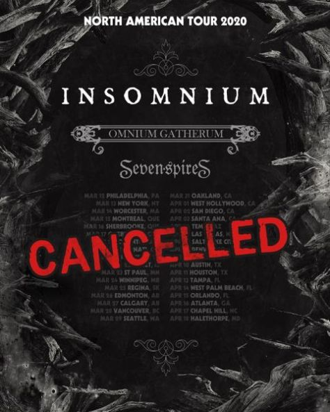 tour posters, insomnium, insomnium tour posters, century media records artists