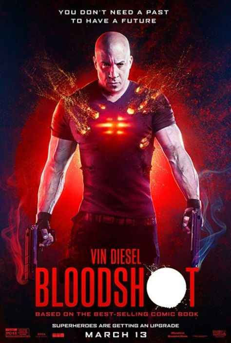 movie posters, promotional posters, sony pictures, bloodshot